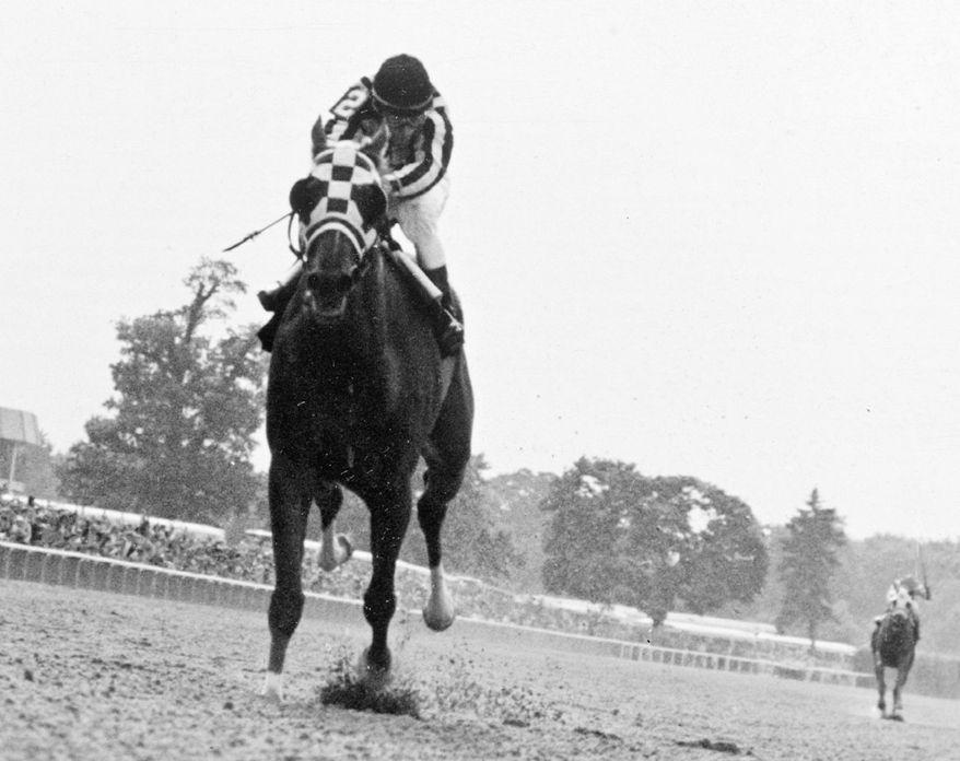 Triple Crown-winner Secretariat captured the Belmont by 31 lengths in 1973. (Associated Press)