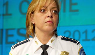 D.C. Police Chief Cathy L. Lanier wrote a letter to council Chairman Phil Mendelson urging him not to rush council member David A. Catania's proposal to increase the privacy of personal email accounts. (Rod Lamkey Jr./The Washington Times)