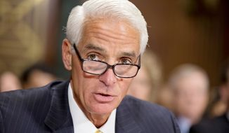 Former Florida Gov. Charlie Crist once was a prominent figure in the Republican Party, but he left the GOP and declared himself an independent before aligning with the Democrats. (Associated Press)