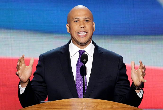 Cory Booker, mayor of Newark, N.J., announced Thursday that he has ruled out a bid for New Jersey governor and is eyeing a run for U.S. Senate in 2014. His announcement alters the landscape for both races and for politics in Newark. (Associated Press)