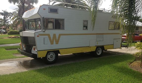 Former Marine Jon Hammar, who served combat tours in Afghanistan and Iraq, was arrested for illegally possessing an antique firearm even though he declared the gun to Mexican Customs agents. Shown is the recreational vehicle he was driving to a Costa Rica on a surfing trip when arrested. He could face up to 15 years in prison if convicted. (Photo courtesy Olivia Hammar)
