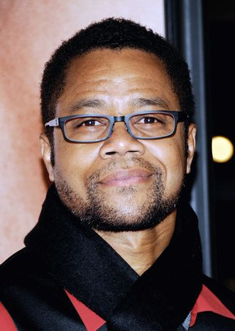 """** FILE ** In this April 18, 2012 photo, actor Cuba Gooding Jr. attends the Tribeca Film Festival premiere of """"The Five-Year Engagement"""" at the Ziegfeld Theatre in New York. Gooding Jr., Vanessa Williams and Condola Rashad will be joining Cicely Tyson in the play, """"The Trip to Bountiful."""" Opening night is set for April 23, 2013. (AP Photo/Evan Agostini)"""