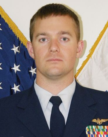 Lt. Lance Leone survived a July 2010 helicopter crash near LaPush, Wash., but his Coast Guard promotion and career may not. (U.S. Coast Guard via Associated Press)