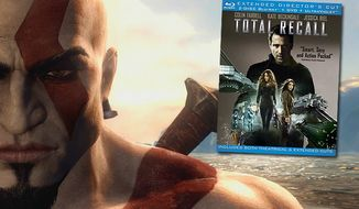 Gamers get a single player demo of God of War: Ascension in the Total Recall Blu-ray set.