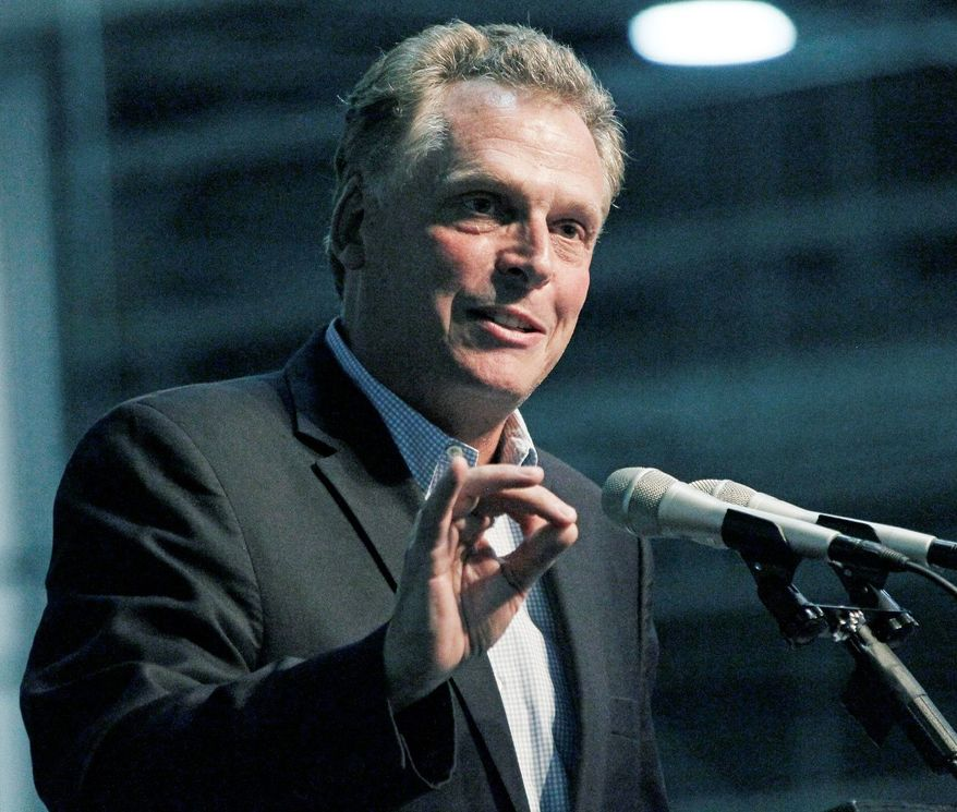 Businessman and Clinton confidant Terry McAuliffe is unopposed for the Democratic nomination for governor of Virginia. (Associated Press)