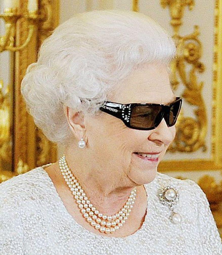 Queen Elizabeth II (AP photo)