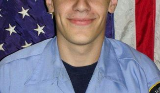 Firefighter Tomasz Kaczowka, 19, was killed when gunman William Spengler, 62, lured first responders into a death trap before dawn on Monday, Dec. 24, 2012. (AP Photo/West Webster Fire Department)