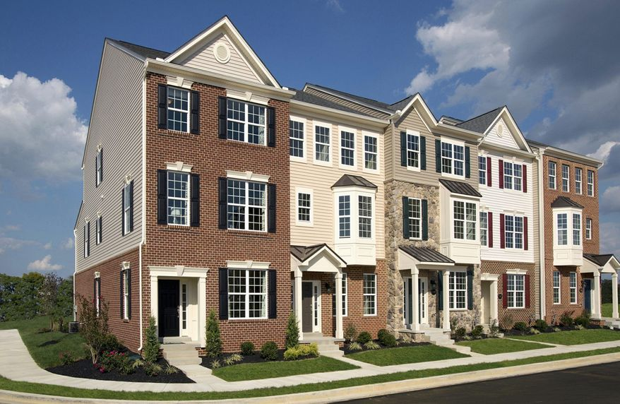 Drees Homes is building 40 town homes at Linton at Ballenger in Frederick. The homes have 2,029 to 2,070 square feet and are base-priced from $282,900 to 292,900.