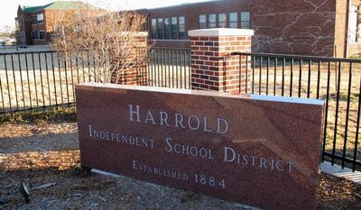 The Harrold Independent School District in Harrold, Texas, has a policy allowing teachers and other school employees to carry concealed weapons, a controversial policy that's now being considered in at least five other states in the wake of the deadly school shooting in Newtown, Conn. (AP Photo/Angela K. Brown)