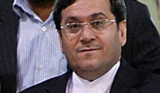 **FILE** Iranian Deputy Foreign Minister Hasan Qashqavi (Associated Press)