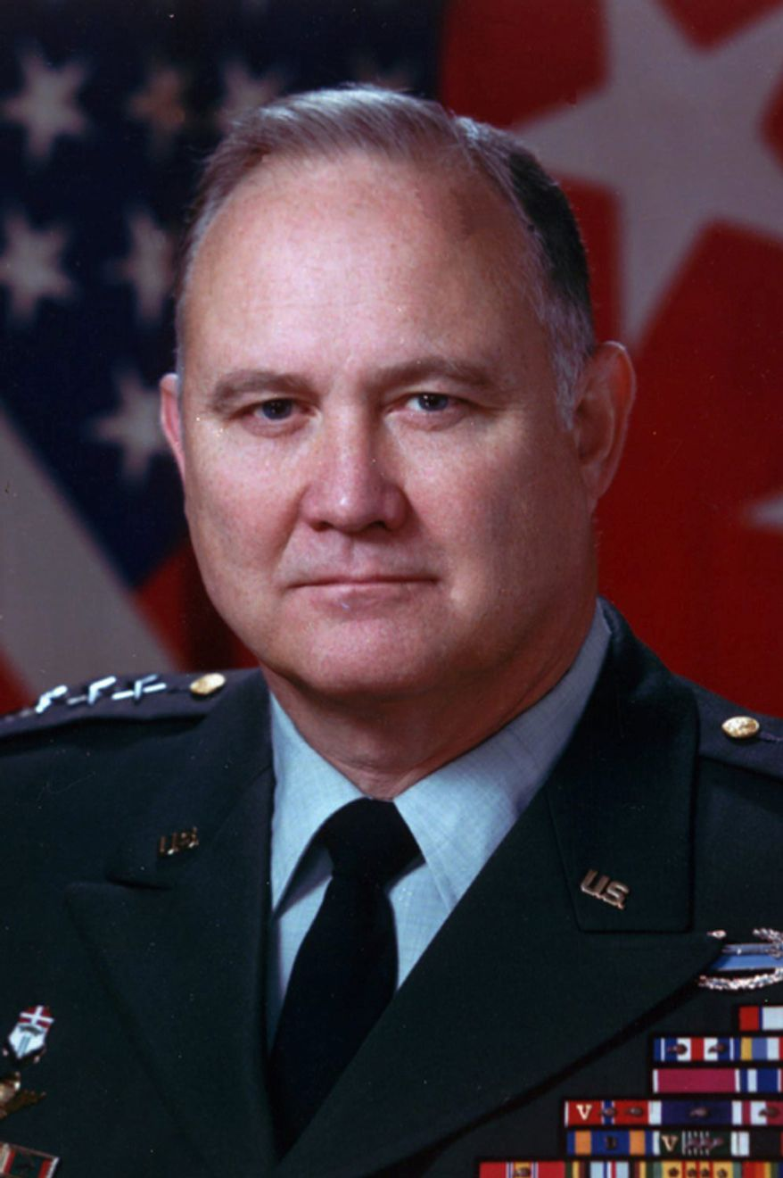 **FILE** Gen. H. Norman Schwarzkopf, seen here in 1991 (Associated Press)