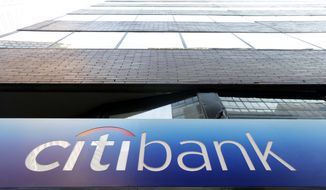 This Wednesday, Dec. 19, 2012, photo shows a Citibank in Philadelphia. U.S. banks are closing the year with the strongest profits since 2006 and fewer failures than at any time since the financial crisis struck in 2008. They're helping support an economy slowed by high unemployment, flat pay, sluggish manufacturing and anxious consumers. (AP Photo/Matt Rourke)