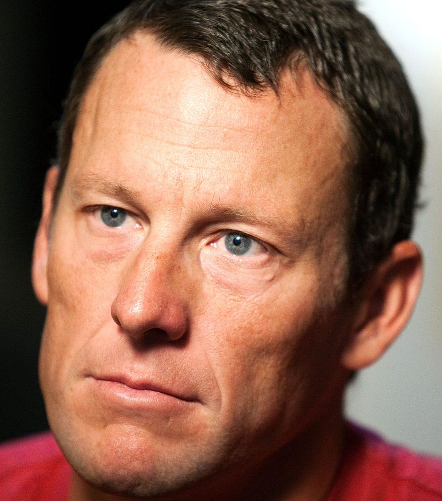 Cycling icon Lance Armstrong stopped his fight against doping allegations and was stripped of his Tour de France titles. (Associated Press)