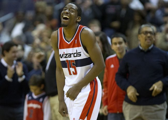 Wizards guard Jordan Crawford missed Saturday's game against the Chicago Bulls with a sprained left ankle. (Associated Press)