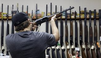 A bill introduced in the Missouri Senate would require parents to disclose their gun ownership status to local schools. (Associated Press)
