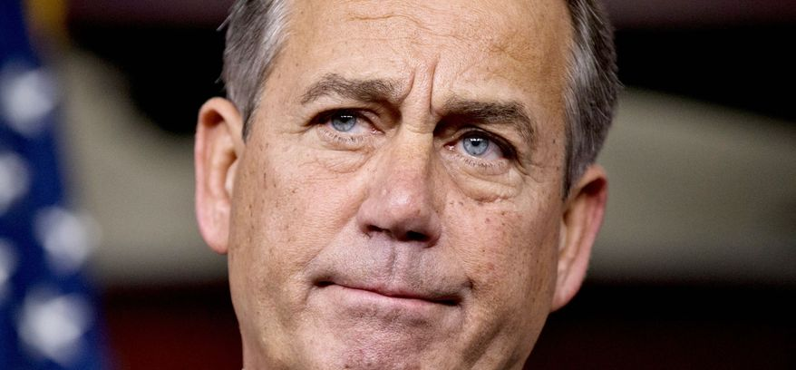**FILE** House Speaker John A. Boehner, Ohio Republican (Associated Press)