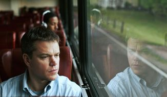 """In """"Promised Land,"""" Matt Damon plays a gas company salesman trying to persuade residents of a town to allow fracking on their land. (Associated Press)"""