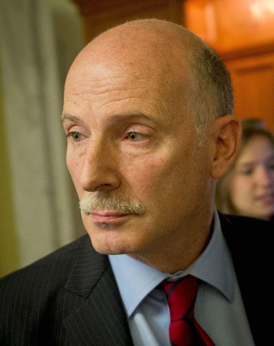 Before he was D.C. Council chairman, Phil Mendelson urged that D.C. police Sgt. Mark Robinson be regarded as a whistleblower, according to a letter obtained by The Washington Times. (Rod Lamkey Jr./The Washington Times)