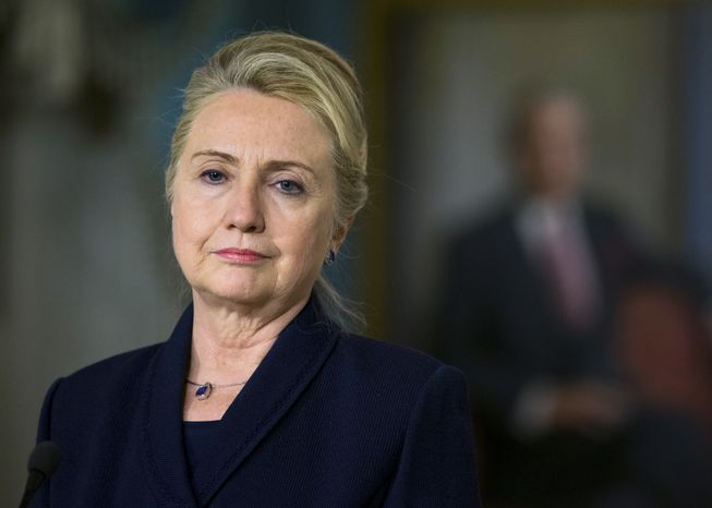 Secretary of State Hillary Rodham Clinton (AP Photo/Manuel Balce Ceneta)