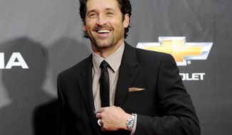 "**FILE** Actor Patrick Dempsey attends the ""Transformers: Dark Of The Moon'"" premiere in Times Square in New York on June 28, 2011. (Associated Press)"
