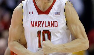 Maryland guard Jake Layman (Associated Press)