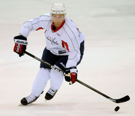 Karl Alzner and his Capitals teammates know that getting into game shape after a long layoff will be a challenge. (The Washington Times)