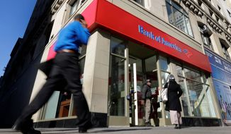 ** FILE ** Bank of America. (Associated Press)