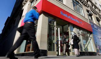 ** FILE ** Bank of America. (Associated Press)