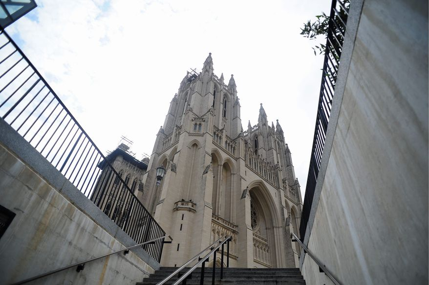 Same-sex couples now can marry at the Washington National Cathedral, but the first such wedding may not occur for six months or more because of scheduling issues. (The Washington Times)