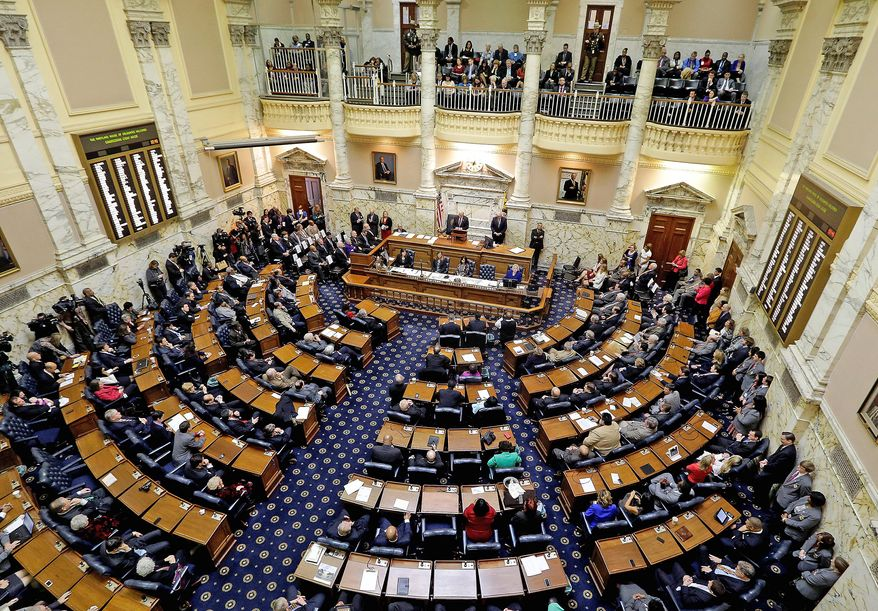The Maryland Senate is considering a measure that would bar most local police from cooperating with federal immigration officials. Gov. Larry Hogan has threatened to veto the bill. (Associated Press, File)