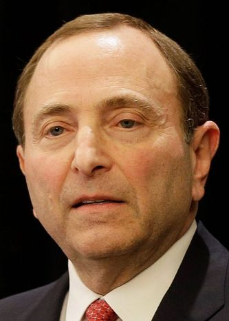 "Leaguewide promotions will be announced at the ""appropriate time,"" said Gary Bettman."