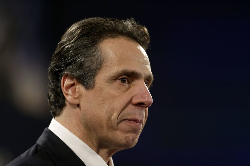 **FILE** New York Gov. Andrew Cuomo (Associated Press)