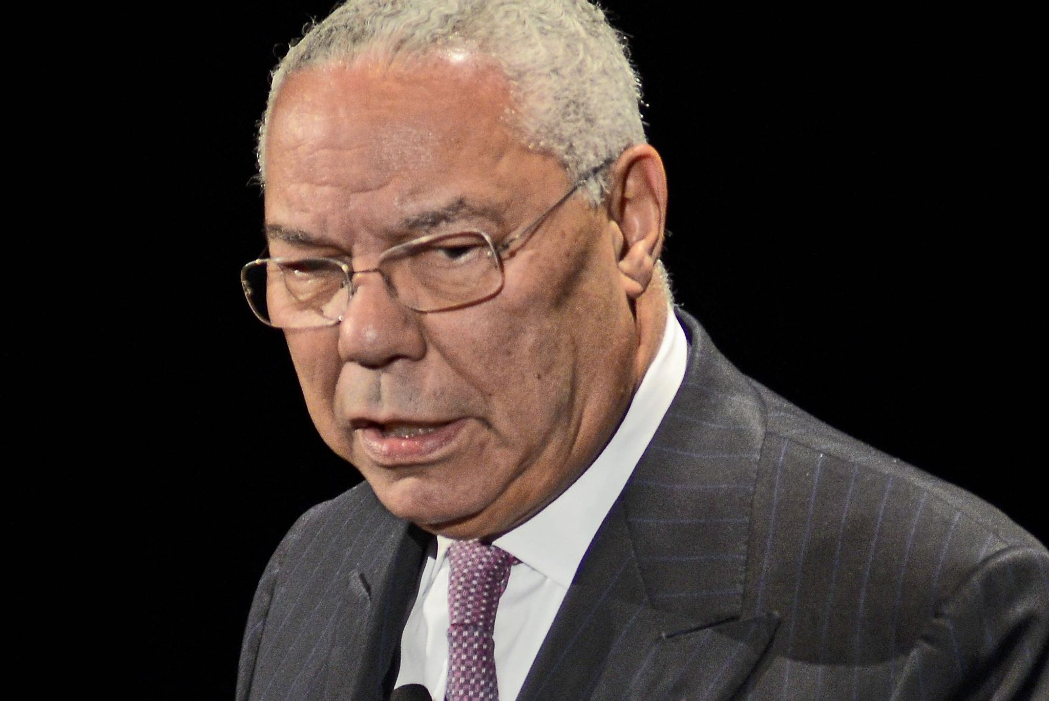 Colin Powell slams GOP 'nastiness': Presidential race 'has gone into the mud'