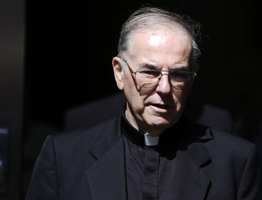 The Rev. Charles Engelhardt (AP Photo/Matt Rourke)