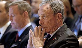 Former New York City Mayor Michael R. Bloomberg (Associated Press) ** FILE **