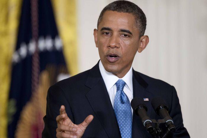President Barack Obama speaks in the East Room of the White House in Washington, Monday, Jan. 14, 2013. (AP Photo/Carolyn Kaster)