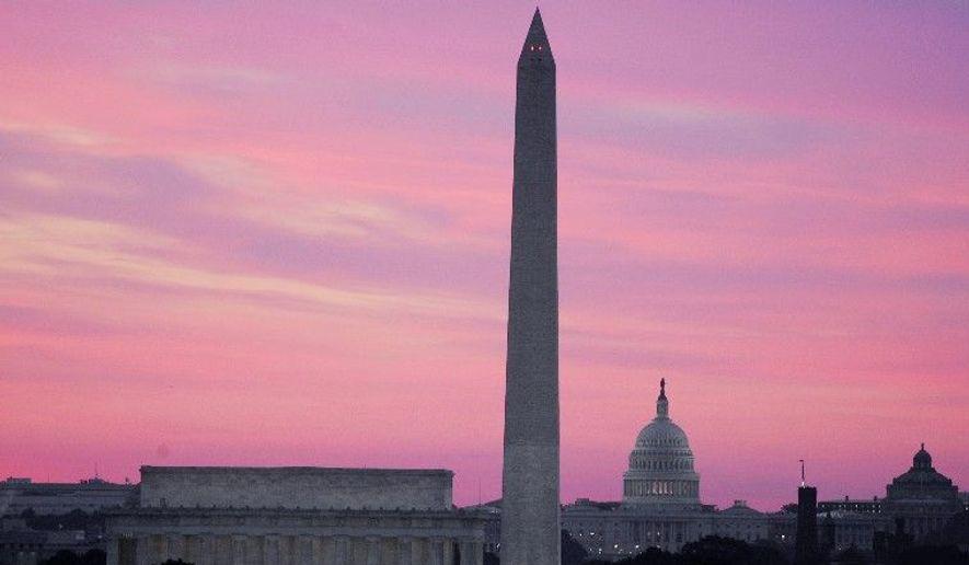 **FILE** The skyline of Washington, D.C. (Associated Press)