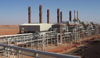 Islamist militants raided and took hostages at the Amenas natural gas field in the eastern central region of Algeria on Wednesday, Jan. 16, 2013. (AP Photo/BP)