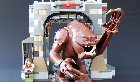 The Lego Star Wars Rancor Pit set (Photograph by Joseph Szadkowski / The Washington Times)