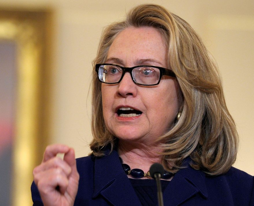 Secretary of State Hillary Rodham Clinton will face a barrage of questions from lawmakers about the attack on the U.S. Consulate in Libya. (Associated Press)