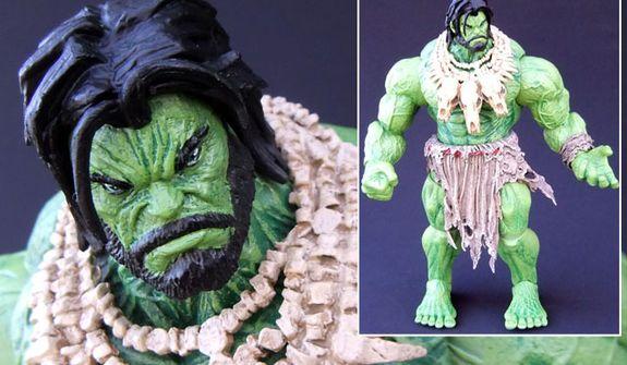 Diamond Select Toys' Marvel Select: Barbarian Hulk (Photograph by Joseph Szadkowski / The Washington Times)
