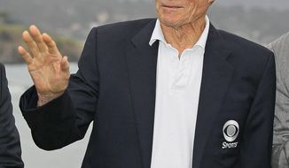 Clint Eastwood is persistently popular among Americans, according to Harris Polls, which ranks him second on a list of favorite movie stars. (Associated Press)