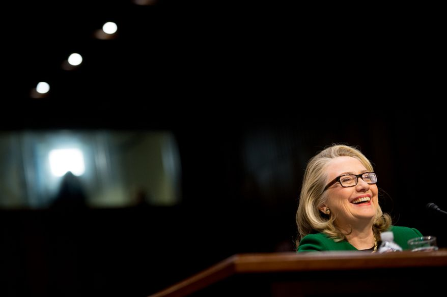 Secretary of State Hillary Rodham Clinton testifies on Capitol Hill about the attack on the American mission in Benghazi, Libya.