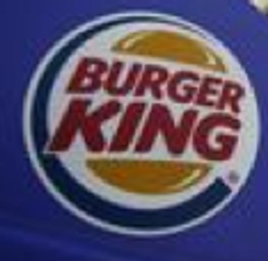 ** FILE ** Photo of Burger King logo. (Associated Press)
