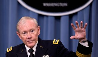 Army Gen. Martin E. Dempsey is chairman of the Joint Chiefs of Staff. (AP Photo/Carolyn Kaster)