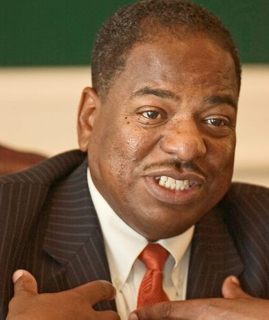 D.C. Council member Vincent B. Orange, at-large Democrat. (The Washington Times)