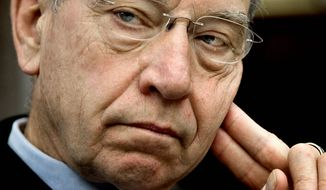 """Technology produced by A123 and funded by U.S. taxpayers should not simply be shipped off to China so that the military applications"" can be reproduced abroad, said Sen. Chuck Grassley. (Associated Press)"