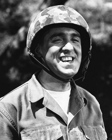 ** FILE ** Jim Nabors is seen in character for his role of Gomer Pyle in this 1966 file photo. (AP Photo)