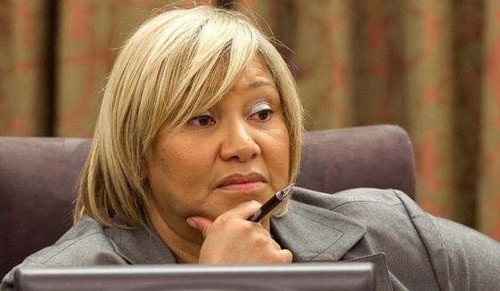 D.C. Council member Yvette Alexander (The Washington Times)
