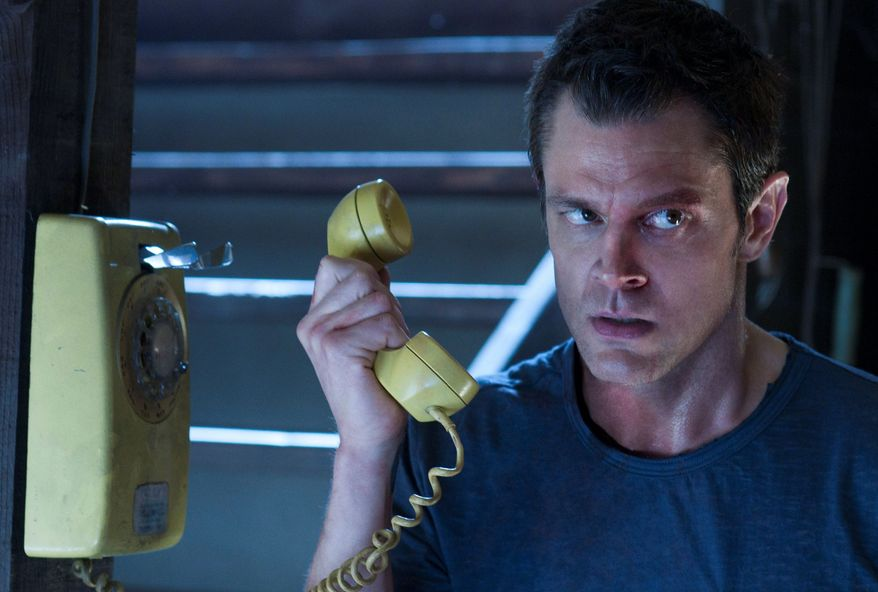 """This image released by Relativity Media shows Johnny Knoxville in a scene from """"Movie 43."""" (AP Photo/Relativity Media, Dale Robinette)"""
